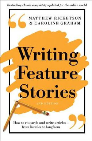 Cover of Writing Feature Stories