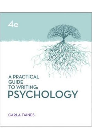 Cover of A Practical Guide to Writing: Psychology, Fourth Edition