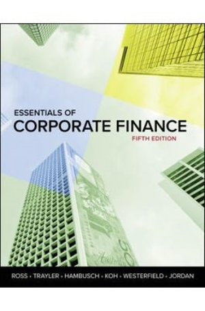 Cover of Essentials of Corporate Finanace