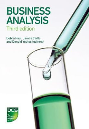 Cover of Business Analysis