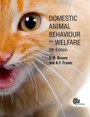 Cover of Domestic Animal Behaviour and Welfare
