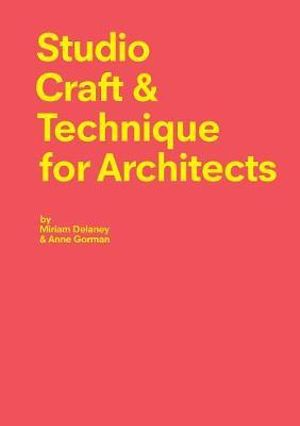 Cover of Studio Craft & Techniques for Architects