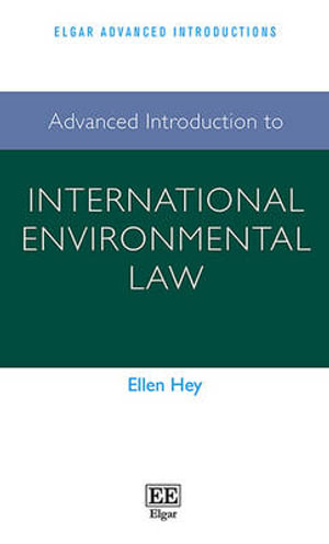 Cover of Advanced Introduction to International Environmental Law