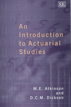 Cover of An introduction to actuarial studies