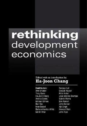 Cover of Rethinking Development Economics