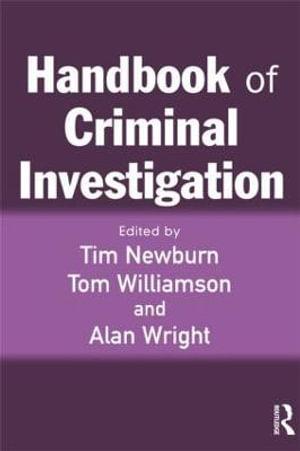Cover of Handbook of Criminal Investigation