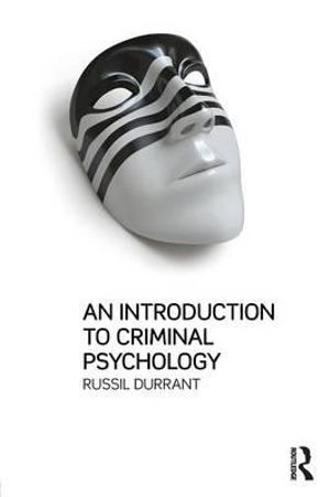 Cover of An Introduction to Criminal Psychology