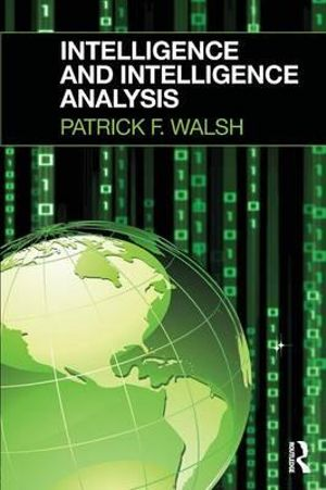 Cover of Intelligence and Intelligence Analysis