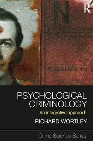 Cover of Psychological Criminology