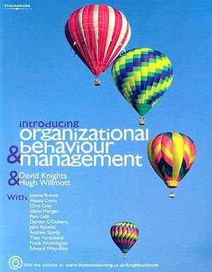 Cover of Introducing Organizational Behaviour and Management