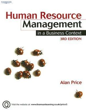 Cover of Human Resource Management in a Business Context