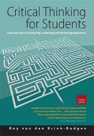 Cover of Critical Thinking for Students