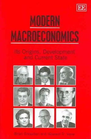 Cover of Modern Macroeconomics