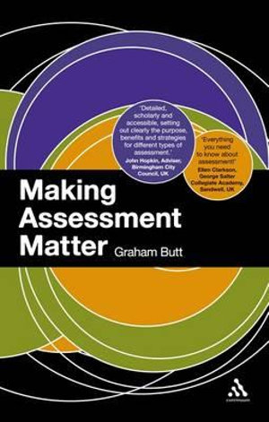Cover of Making Assessment Matter