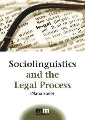 Cover of Sociolinguistics and the Legal Process
