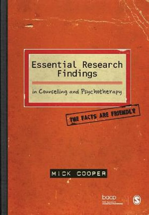Cover of Essential Research Findings in Counselling and Psychotherapy