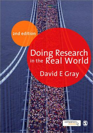 Cover of Doing research in the real world