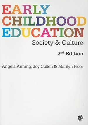 Cover of Early Childhood Education: Society and Culture 2ed