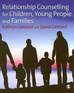 Cover of Relationship Counselling for Children, Young People and Families