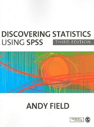 Cover of Discovering Statistics Using SPSS 3ed