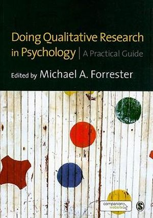 Cover of Doing Qualitative Research in Psychology