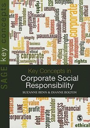 Cover of Key Concepts in Corporate Social Responsibility