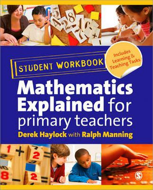 Cover of Student Workbook for `Mathematics Explained for Primary Teachers`
