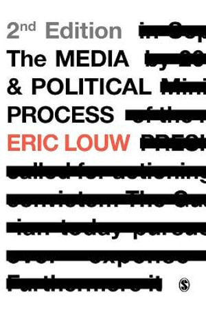 Cover of The Media and Political Process 2ed