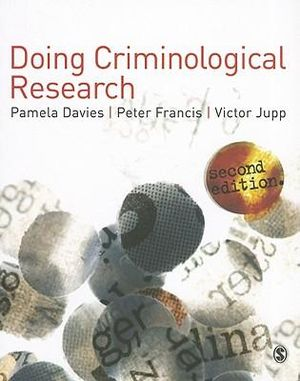 Cover of Doing Criminological Research