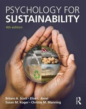 Cover of Psychology for Sustainability
