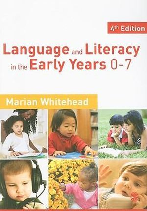 Cover of Language & Literacy in the Early Years 0-7