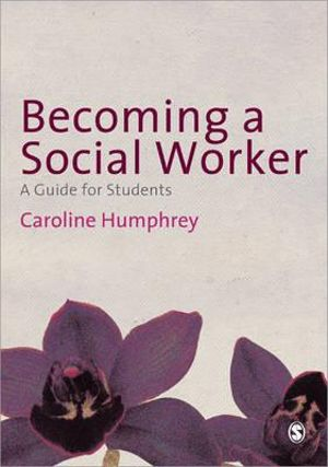 Cover of Becoming a Social Worker