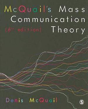 Cover of McQuail's Mass Communication Theory