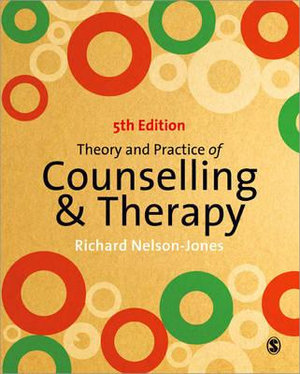 Cover of Theory and Practice of Counselling and Therapy
