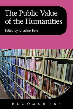 Cover of The Public Value of the Humanities