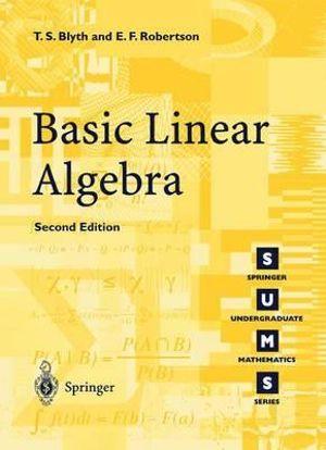 Cover of Basic Linear Algebra