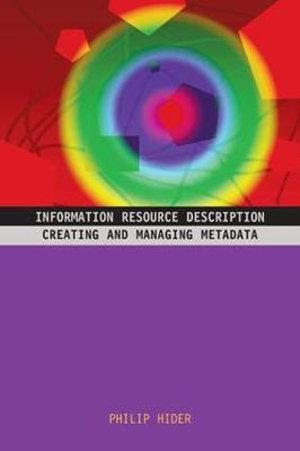 Cover of Information Resource Description