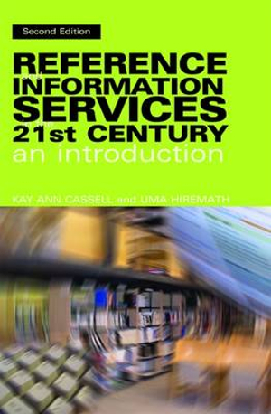 Cover of Reference and Information Services in the 21st Century