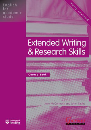 Cover of English for Academic Study: Extended Writing and Research Skills