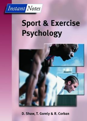 Cover of Sport and Exercise Psychology