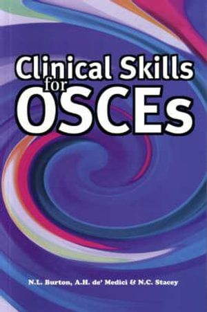 Cover of Clinical Skills for OSCEs