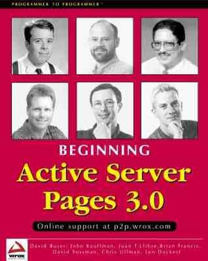 Cover of Beginning ASP 3.0