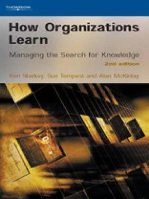 Cover of How Organizations Learn