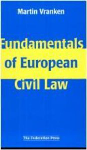 Cover of Fundamentals of European Civil Law and Impact of the European Community