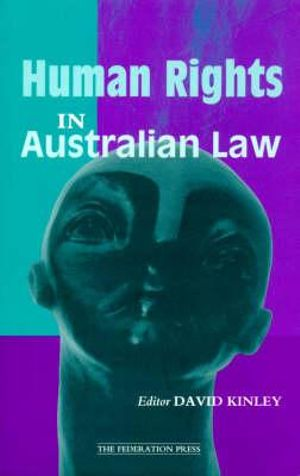 Cover of Human Rights in Australian Law
