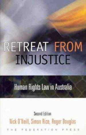 Cover of Retreat from Injustice