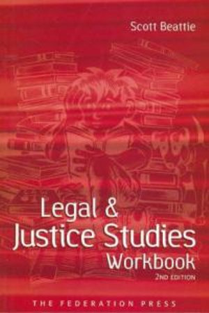 Cover of Legal and Justice Studies Workbook