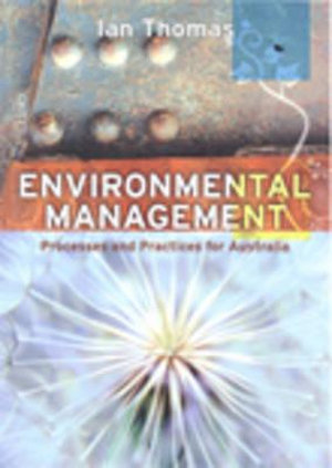 Cover of Environmental Management Processes and Practices for Australia