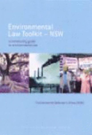 Cover of Environmental Law Toolkit--NSW