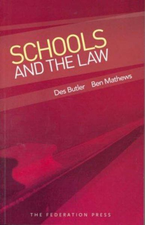 Cover of Schools and the Law